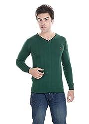 kalrav Fashion solid Green T-shirt