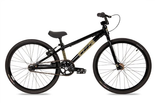 Dk Mini Bmx Bike With Gold Rims Black, 20-Inch)