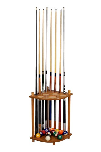 Great Deal! Mike Massey Billiards Corner Cue Rack
