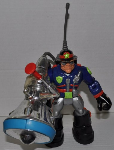 41J5FqKKCmL Cheap Buy  Willy Stop with Action Backpack Police Officer (Night Ops Version) (Retired) Rescue Hero   Fisher Price Action Figure   Non
