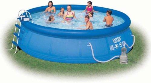 intex easy set pool 15 x 42 toy. Black Bedroom Furniture Sets. Home Design Ideas