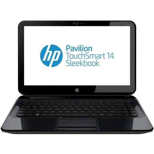 HP Pavilion TouchSmart 14-b109wm 14-Inch Laptop PC (1.4 GHz Intel Celeron Processor B877, 4 GB DDR3 SDRAM, 500 GB 5400 rpm, Windows 8 64-bit) (887758721506)