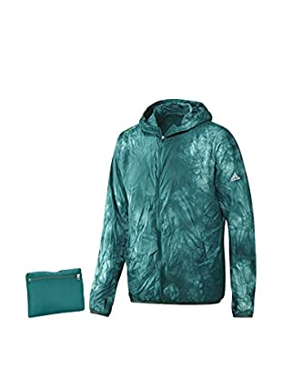 adidas Chaqueta Kanoi Run Packable Dye (Verde)