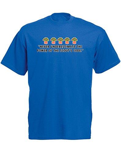 scouts-code-imprime-des-hommes-t-shirt-bleu-blanc-transfert-2xl-119-124cm