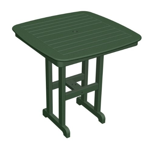 Nautical 37 in. Square Outdoor Counter Table (Sand)