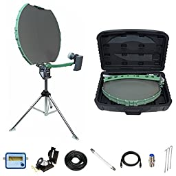 Directv Folding Portable Satellite Dish Rv Tripod Kit