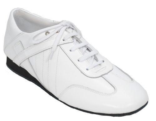Ultimate Dance Shoes-Hybrid Dance Shoes-Womens-White-5.5-Medium