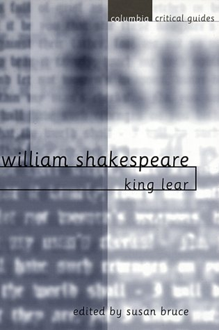 William Shakespeare: King Lear, Susan Bruce