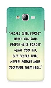 AMEZ people will forget what you said did Back Cover For Samsung Galaxy ON7
