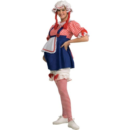 Maternity Rag Doll Costume - Standard - Dress Size 10-12