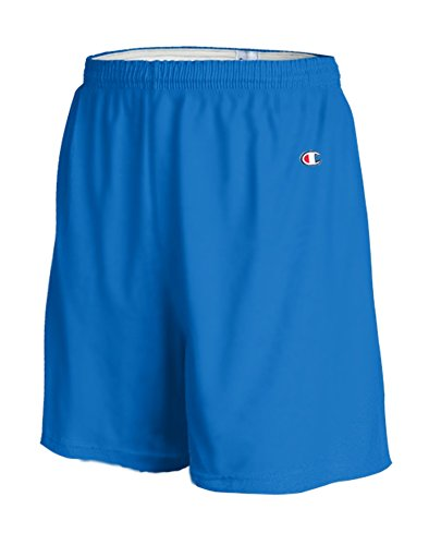 Champion Men's 6-Inch Royal Blue Cotton Jersey Shorts - X-Large