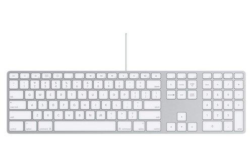Clavier d'ordinateur APPLE MB110 BLANC