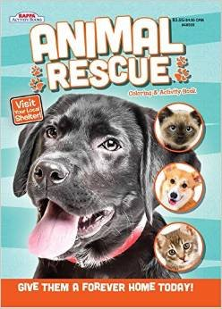 Kappa Publication 148503 Animal Rescue Coloring Book