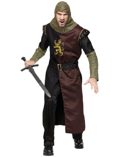 Fun World Mens Renaissance Knight Adult Plus Costume