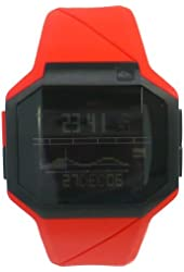 QUIKSILVER watch ADDICTIV COLOR RED XQWC705 Men's