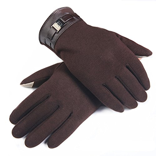daixers-touch-screen-winter-outdoor-windproof-warm-gloves-brown