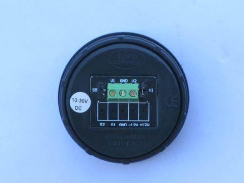 Fs  Topo Digital Dual Battery Voltmeter  Sold Pending