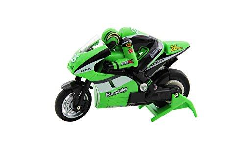 XciteRC-34000200-Ferngesteuerter-RC-Motorrad-Mini-Racebike-RTR-24-GHz-grn
