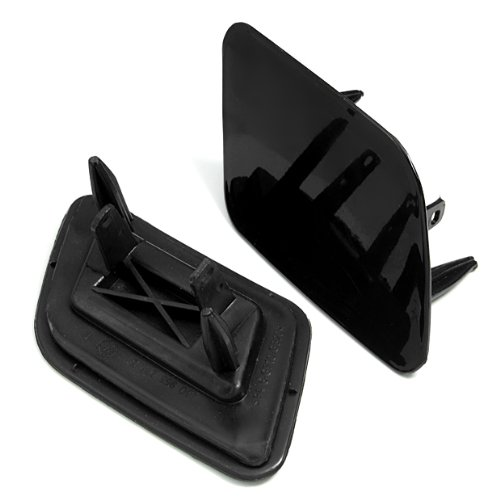 2 Pcs Headlight Washer Cover Cap For Audi A6 C5 Avant Quattro 2002 2003 2004 2005 Facelifted Models 2 Pcs Brand New front-543469
