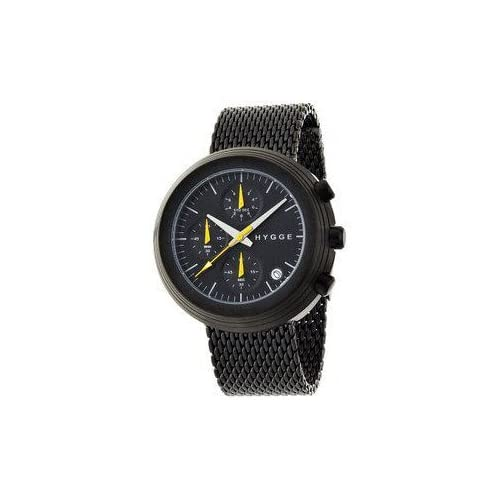 腕時計 HYGGE Watch - 2312 Series - Leather - Black/Black【並行輸入品】