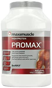MaxiMuscle Promax 908 g Natural Whey Protein Shake Powder