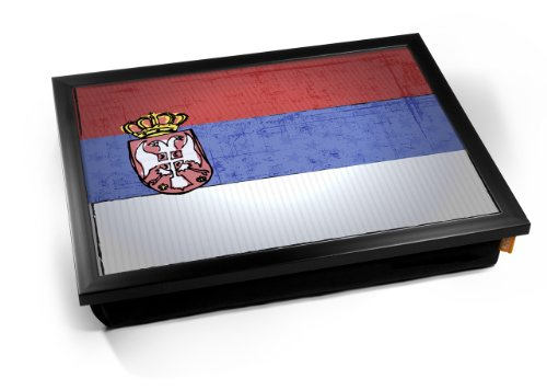 Serbia World Cup 2010 Flag Cushion
