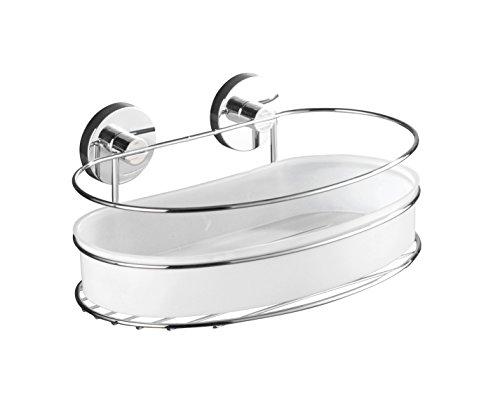 Toilette Dusche Verstopft : Eckregal Dusche Kleben : WENKO 20892100 Vacuum Loc Wandablage Milazzo