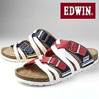 エドウィン EDWIN EW9165 メンズ サンダル フットベットサンダル