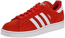 adidas Originals Men\'s Campus 2 Lifestyle Basketball Sneaker, Red/White/Red, 11.5 M US