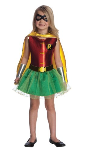 Justice League Child'S Robin Tutu Dress - Toddler front-1068460