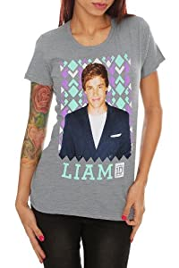 One Direction Liam Grey Girls T-Shirt by Hot Topic