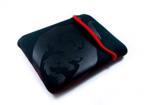 Evolve reversible neoprene sleeve case cover for netbook / laptop / notebook  Guardian design  in size: 8.9 inch / 9
