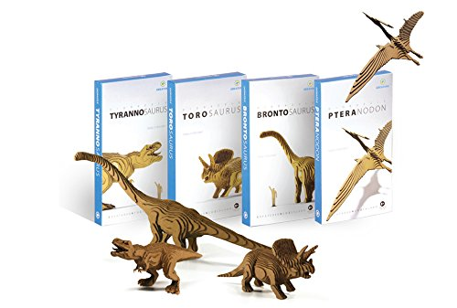 [Diorazzle Torosaurus] 3D-diorama Non-toxic Educational Dinosaur Puzzle for Kids