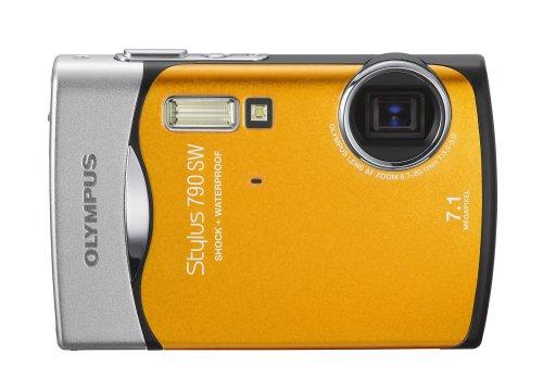 Olympus Stylus 790SW 7.1MP Waterproof Digital Camera with Dual Image Stabilized 3x Optical Zoom (Orange)