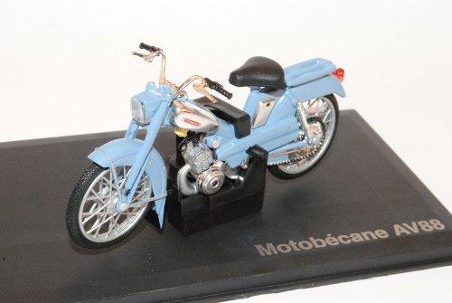 Motobecane AV88 Grau 1/18 Norev Modell Motorrad