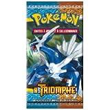 Asmodée - 10 Cartes Pokémon HS Triomphe