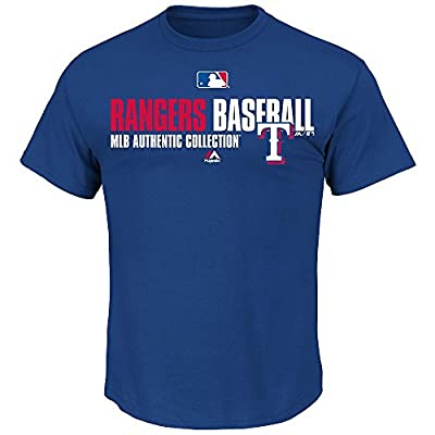 Texas Rangers MLB Majestic AC Team Favorite Men's Tee
