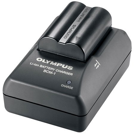 how do i olympus bcm1 battery quick charger for c7070