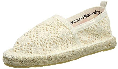 Superdry Espadry, Espadrillas Donna, Bianco (Off White Crochetotv), 38 EU