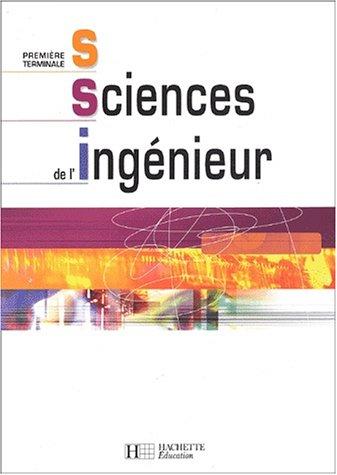 Sciences de l'ingénieur, 1ère, Terminale S