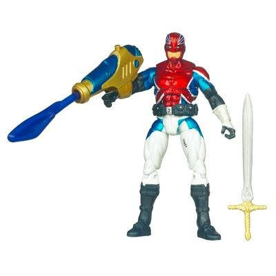 Captain America Movie 4 Inch Series 2 Action Figure Captain Britain