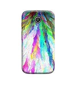 Ebby Premium Back Cover For Motorola Moto E