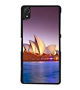 printtech Lotus Australia Building Back Case Cover for Sony Xperia Z2 , Sony Xperia Z2 L50W D6502 D6503