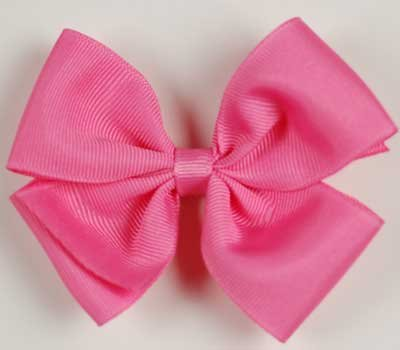 Boutique Baby Girl Accessory Grosgrain Clippie FANTASY ROSE Hair Bow