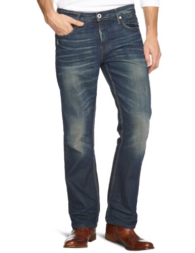 Firetrap Rom-G2-V154 Straight Men's Jeans Barrel.W W30 Inxl34 In