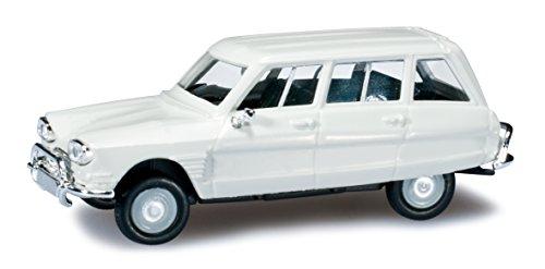 Herpa - 027328-003 - Citroën - Ami 6 Break - Blanc Crème