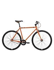Feral Men's Fixie Single Speed Bike - Gloss Orange, 49 cm