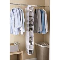 2-Pack Mainstays 10-Shelf Organizer in White (DCMS86-009-42)