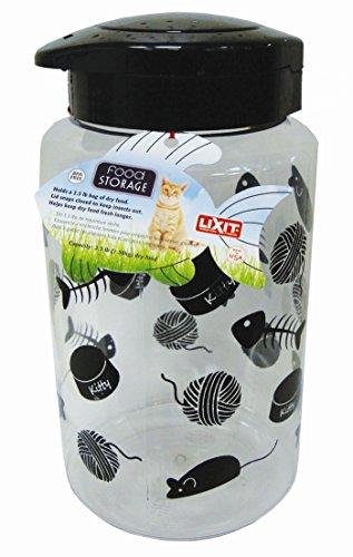 lixit animal care lixit cat food storage jar 128oz animals pet supplies pet supplies pet containers. Black Bedroom Furniture Sets. Home Design Ideas