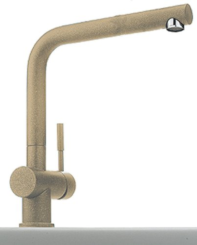 Franke Model 370-1 Kitchen Sink Mixer Tap with pivotable spout, Beige